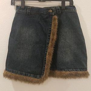 Jean's skirt